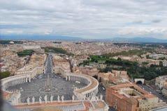 Basilique de San Pietro dans la ville de Vatican à Rome Photos stock