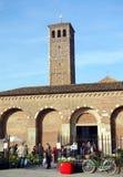 Basilique de Sant'ambrogio Photographie stock