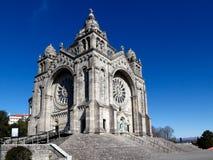 Basilique de Santa Luzia Photographie stock libre de droits