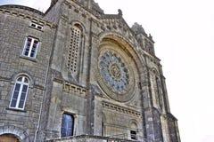 Basilique de Santa Luzia, Portugal Image libre de droits