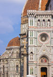 Basilique de Santa Maria del Fiore à Florence, Italie Photos stock