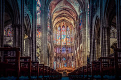 Basilique de St Denis image stock