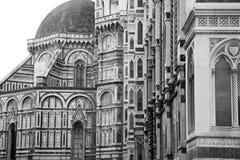 Basilique de St Mary de la fleur à Florence Images libres de droits