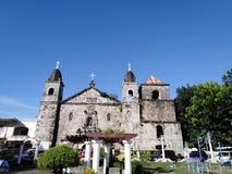 Basilique de St Niño dans la ville d'Iloilo, Philippines images stock