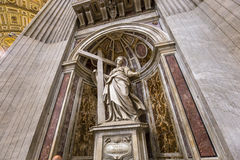 Basilique de St Peter, Ville du Vatican, Vatican Photos libres de droits