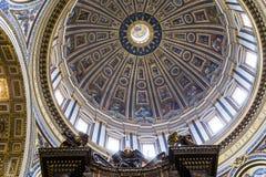 Basilique de St Peter, Ville du Vatican, Vatican Photo stock