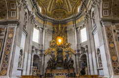 Basilique de St Peter, Ville du Vatican, Vatican Photos stock