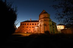 Basilique de St Procopius dans Trebic Photo stock