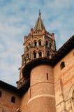 Basilique de St Sernin Image stock