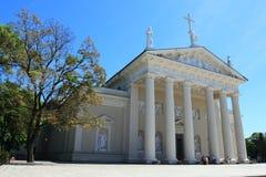 Basilique de St Stanislaus à Vilnius, Lithuanie image stock