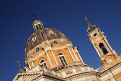 Basilique de Superga - Turin photos libres de droits