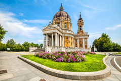 Basilique de Superga, Turin, Italie Photo libre de droits