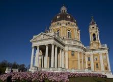 Basilique de Superga Turin Italie Images stock