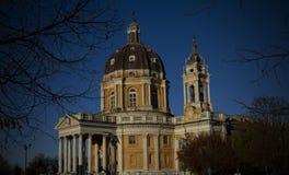 Basilique de Superga Turin Italie Photographie stock