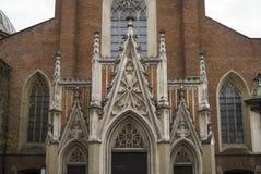 Basilique de trinit? sainte et monast?re dominicain ? Cracovie photo libre de droits
