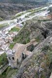 Basilique de Virgen de la Pena à Graus, Espagne Photographie stock libre de droits