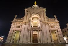 Basilique des angélus de degli de Santa Maria, Assisi images stock