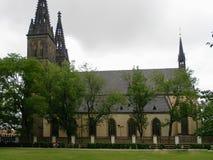 Basilique des saints Peter et Paul prague Photo stock