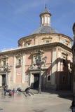 Basilique du abandoné à Valence, Espagne Image libre de droits
