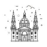 Basilique du ` s de Budapest - de St Stephen, Hongrie Photographie stock libre de droits