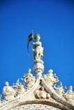 Basilique du ` s de St Mark, sculture, à Venise, l'Italie Image libre de droits
