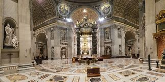 Basilique du ` s de St Peter, basilique, lieu de culte, architecture bizantine, architecture médiévale Images libres de droits