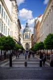 Basilique du ` s de St Stephen à Budapest Image stock