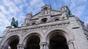 Basilique du sacré cŔur de Montmartre Arkivbild