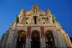 Basilique du Sacré-CÅur Fotografia de Stock Royalty Free
