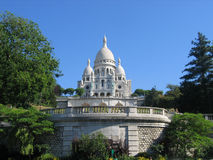 Basilique du Sacré-Cœur. Basilique du Sacre Coeur in Paris, France stock image
