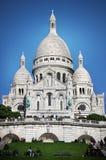 Basilique du Sacré-Cœur paris Stock Photos