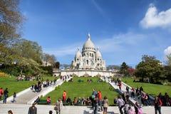 Basilique du Sacré-CÅur, Paris fotografia de stock royalty free