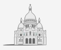 Basilique du Sacré-Coeur de Montmartre Stock Images