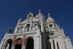 Basilique du Sacré Coeur. Montmartre, Paris - France Stock Photos