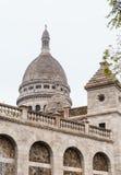 Basilique du Sacre C? ur, 1914 Холм Montmartre, Париж Стоковое Изображение RF