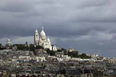Basilique Du Sacre Coeur Париж Стоковое Изображение RF
