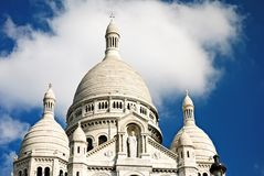 Basilique du Sacre-Coeur Royalty Free Stock Photo