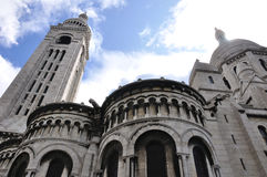 Basilique du Sacre-Coeur Stock Photography