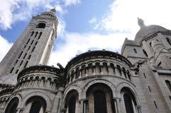 Basilique du Sacre-Coeur Stock Photography