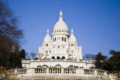 Basilique du Sacre-Coeur. Royalty Free Stock Photos
