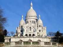 Basilique du Sacre-Coeur. In Paris, France Stock Image