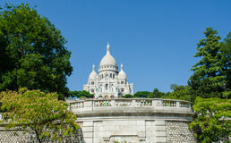 The basilique du sacre coeur church in paris Stock Image