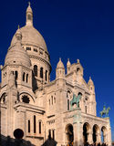 Basilique du Sacre Coeur, Parijs, Frankrijk Stock Afbeeldingen
