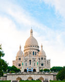 Basilique Du Sacre Coeur, Paris. Sacre-Coeur basilica (Basilica of the Sacred Heart of Jesus), Montmartre, Paris Stock Image