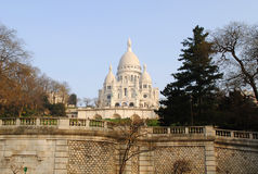Basilique du Sacre-Coeur, Paris Royalty Free Stock Image