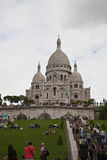 Basilique Du Sacre Coeur Stock Photography