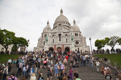 Basilique Du Sacre Coeur Royalty Free Stock Photo