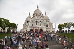 Basilique Du Sacre Coeur Royalty Free Stock Photo