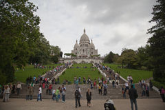Basilique Du Sacre Coeur Stock Photos