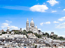 Basilique Du Sacre Coeur Paris Royalty Free Stock Photo